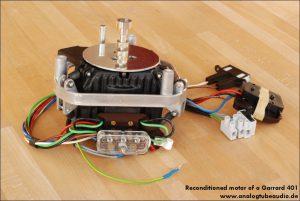 Überholung Reparatur Garrard 401 Motor repair