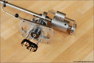 SME 3012 S1 überholt und neue Tonarminnenverkabelung mit Pure Silver Hair Wire