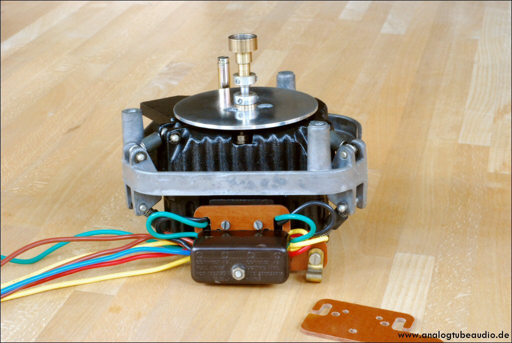 Überholung Garrard 401 Motor with new motor isolation board