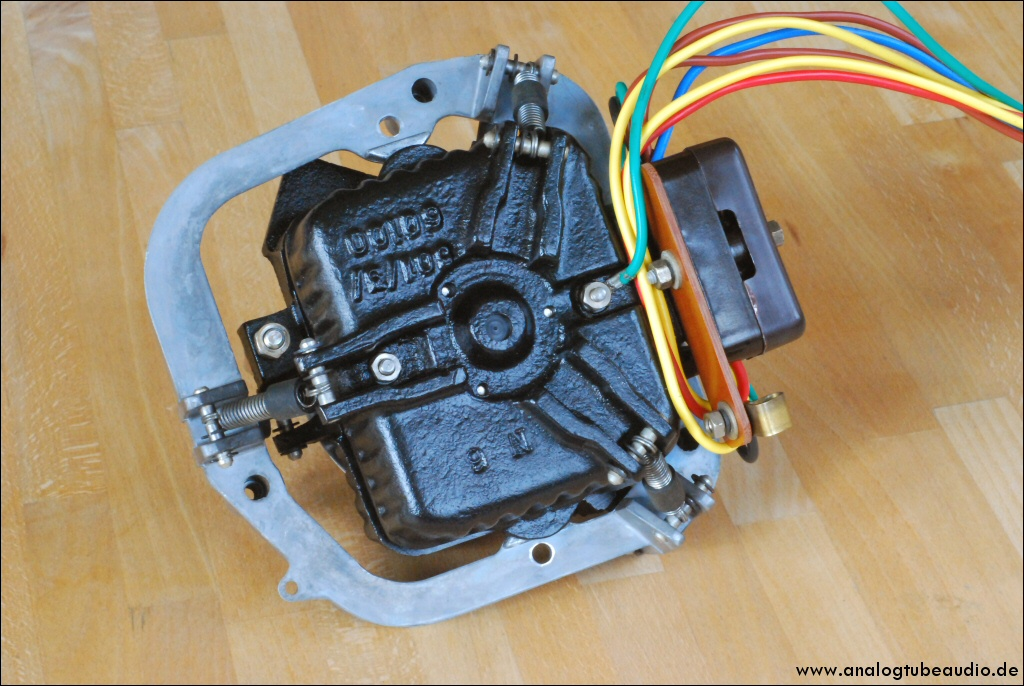 Überholung Garrard 401 Motor with new motor isolation board
