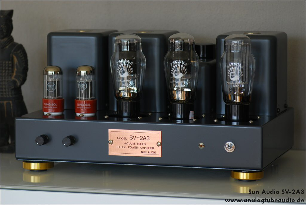 Uchida triode amps - Analog Tube Audio - finest quality handcrafted