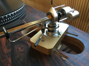 Bronze slider für SME 3012-R auf Blumenhofer Zarge