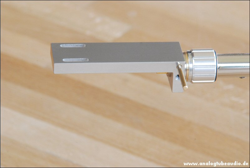 Heashell Prototyp aus Aluminium-Titan für SME 3009 - 3012 3012-r