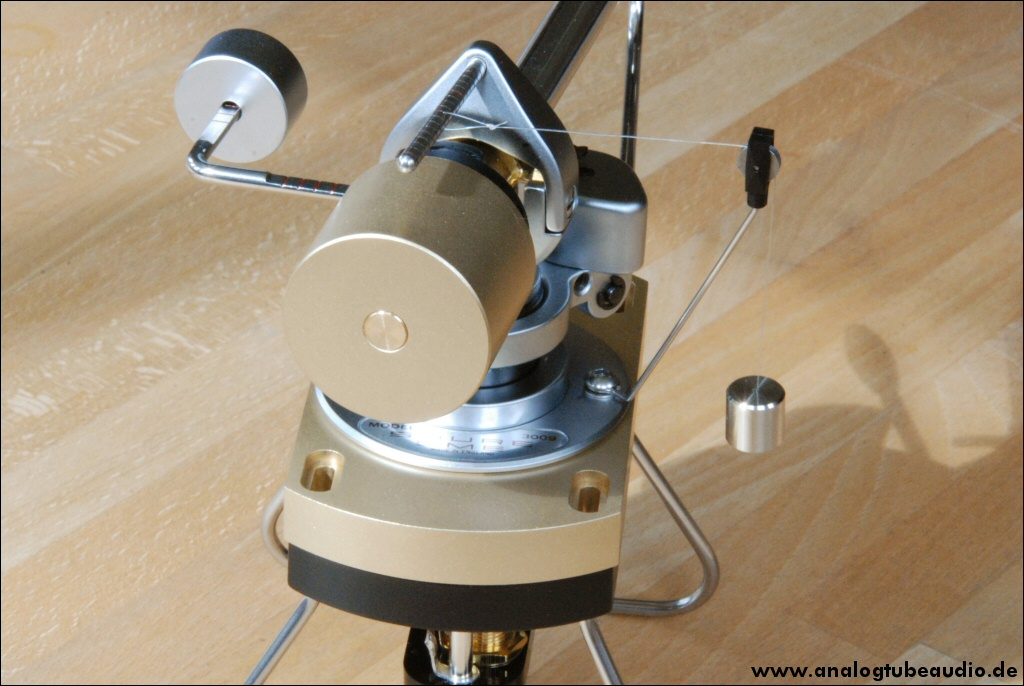 SME 3009 S2 improved converted to a middleweight tonearm, new Antiskating and counterweight