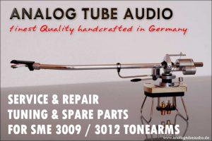 Service und Reparatur für SME Tonarme, sowie Ersatzteile