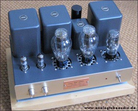 Uchida / Sun Audio, Japan Röhrenverstärker mit 300B und 2A3 Trioden triode amp