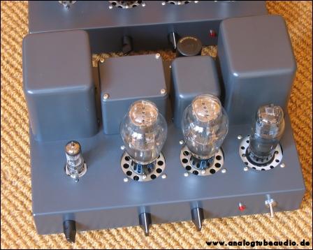 Uchida / Sun Audio, Japan Röhrenverstärker mit 300B und 2A3 Trioden triode amp push-pull