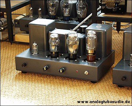 Uchida / Sun Audio, Japan Röhrenverstärker mit Fivre Monoplate 2A3 Trioden triode amp
