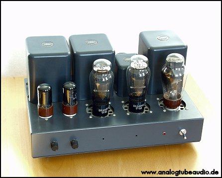Uchida / Sun Audio, Japan Röhrenverstärker mit VT-52 Trioden triode amp